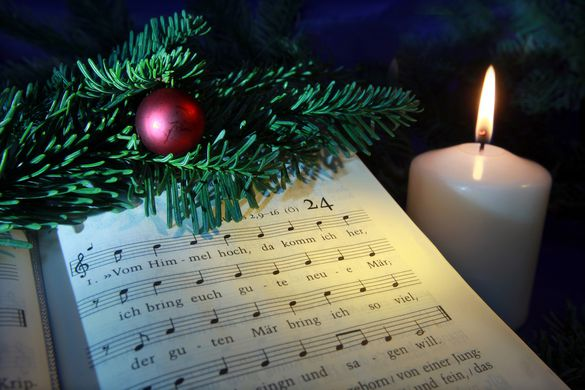 """Vom Himmel hoch"""" – Luthers Weihnachtslieder als theologisches ..."""