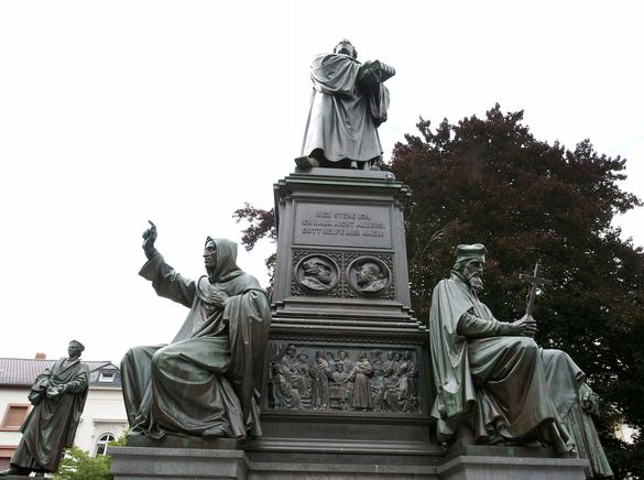 Lutherdenkmal in Worms