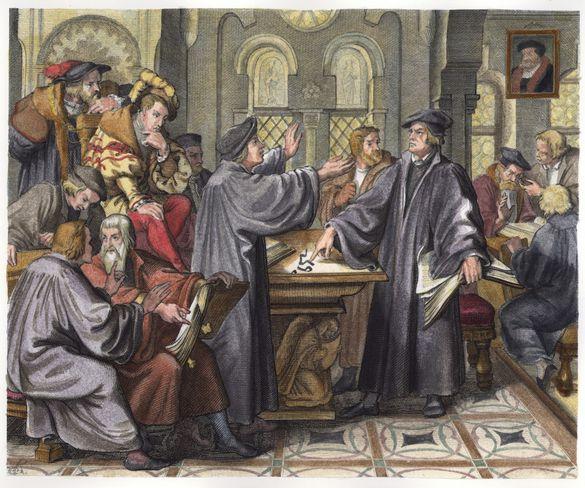 Spaltung Der Kirche Durch Luther