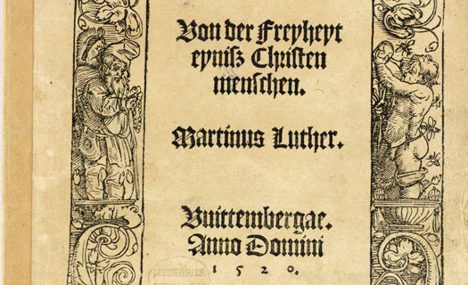 "martin luther on christian freedon ""a christian is a perfectly free lord of all, subject to none a christian is a perfectly dutiful servant, subject to all"" –martin luther, the freedom of the christian (1520) christian."